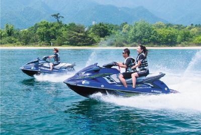 水上オートバイ操縦イメージ