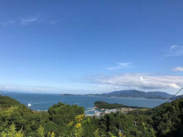 豊島アート巡りサイクリングプラン